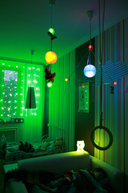 детская авторские светильники
