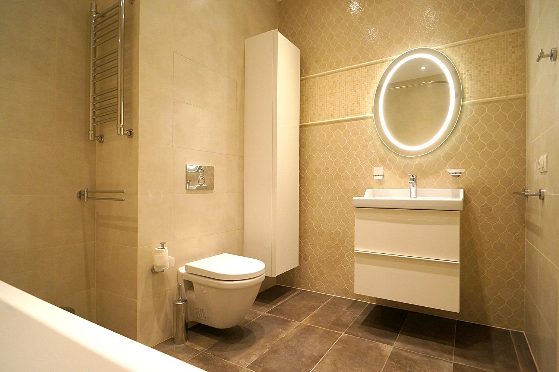 ванная ikea, сантехника vitra, плитка provenza